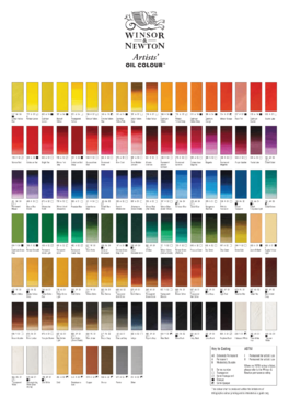 AOC Colour Chart 4col