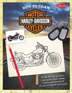 How to Draw Harley Davidson Motor Cycles